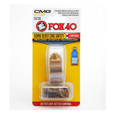 Fox 40 Sonik Blast CMG Whistle with Lanyard Referee-Coach Safety Gold 9203-1208