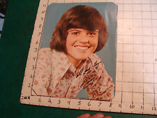 Donny Osmond Poster: Young single sheet, other photos on back Removed from mag