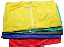 Mens Kagool Hooded Zip Shower Proof Lightweight Jacket Cagoule Festival Rain Mac
