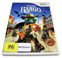 Rango Nintendo Wii PAL *Complete* Wii U Compatible