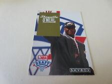 1992-93 Skybox NBA Draft #1 Pick Shaquille SHAQ O'Neal #DP1 Magic Lakers