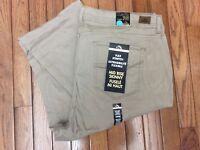 NWT Jordache Jeans 24W Beige Tan Khaki Flex Stretch Mid Rise Skinny Pants (T1)