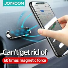 Magnet Mobile Phone Car Holder Air Vent Mount With 4 Spare Adhesive Plates dash