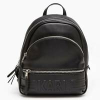 Exclusive Karl Lagerfeld x Falabella Backpack Black Limited Edition