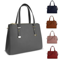 Ladies Genuine LYDC Handbag Faux Leather Multi Compartment Shoulder Bag GL4802