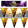 12ft Halloween Bunting Haunted House Flag Decoration Party Wall Hanging Banner