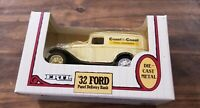 Ertl Diecast 1932 Ford Coast To Coast Panel Delivery Bank - 1:25 Scale
