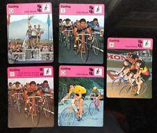 EDDIE MERCKX 1978 Sportscaster Card #07-05, 02-19, 02-19 error, 04-05, 51-05