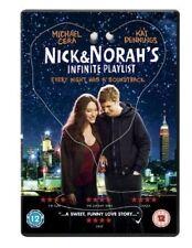 Nick and Norah's Infinite Playlist DVD - Region 2 UK version (New & Sealed)