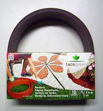 Kit Bordura Giardino Lacogreen - 5 metri Cacao
