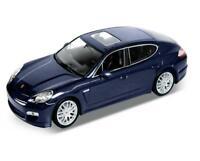 1/24 Welly Porsche Panamera S Blue Diecast Model Car Blue 24011