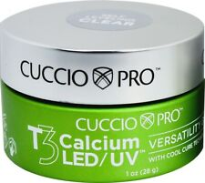 Cuccio Pro T3 Calcium LED/UV Versatility Gel With Cool Cure Technology
