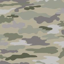 Tapete Camouflage Kidswalls Thomas 27148 Military Grün Oliv  / EUR 4,13/qm