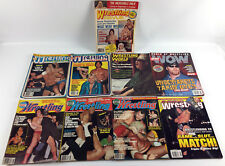 Lot 17 Vintage Wrestling Magazines - Illustrated Inside World Revue WWE