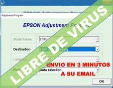 Reset Epson L395 L495 - Unlimited 1Pc, send to your email