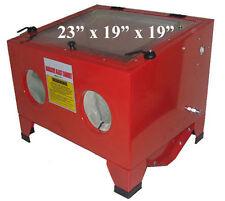 80PSI Abrasive Sand Blast Blaster Cabinet Sandblaster 25 Gallon *FREE SHIPPING*