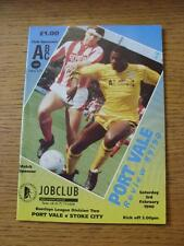 03/02/1990 Port Vale v Stoke City  (No Apparent Faults)