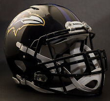 BALTIMORE RAVENS NFL Authentic GAMEDAY Football Helmet w/ S3BD-SP Facemask