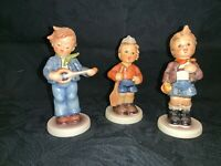 (3) Hummel Goebel COLLECTORS CLUB Boy Figurines FIRST MATE-CHEEKY FELLOW-etc