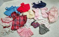 Rare Vintage Doll Clothing Lot includes Vogue Ginny & Andrea Dresses Coats Fur