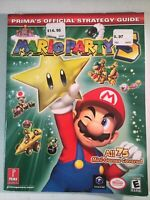 MARIO PARTY 5 PRIMA'S OFFICIAL STRATEGY GUIDE 2003 Gamecube
