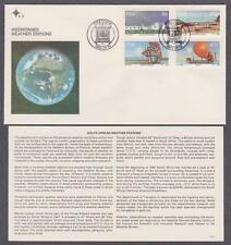 RSA # 610 - # 613 , South African Weather Stations FDC - I Combine S/H