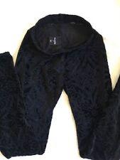 Black Milk Velvet Regular Size Pants for Women