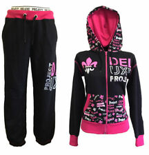 Fleece Hooded Tracksuits for Women