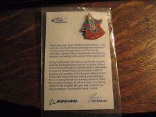 Space Shuttle Pin - 2001 Boeing Aerospace Flight Awareness Rocket Lapel Hat Pin