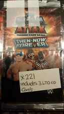 WWE SLAM ATTAX THEN NOW FOREVER TRADING CARD GAME  X221 +