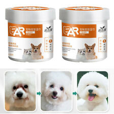 260pcs Pet Ear Wipes Soft Gentle Dog & Cats Presoaked Cleaning Grooming Pads