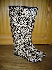 bottes de pluie caoutchouc  P41 léopard,neuves