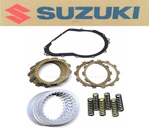 Clutch Kit 06-07 GSX-R750 GSXR750 Spring Plates Discs Gasket OEM Suzuki #C120