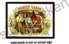 OLD HONEST LABOR AD, REPRODUCTION /  SIGNS, BLACKSMITH, business policy sign