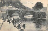 QUIMPERLE - Le pont fleuri à Lauvignon