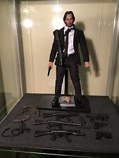 "1/6 Scale Keanu Reeves John Wick 12"" Figure/ Hot Toys Phil Coulson Suit/JWstand"