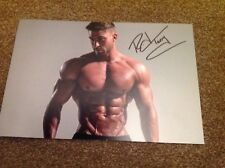 Ryan Terry Hand Signed 12 x 8 Photo BodyPower COA 1
