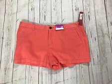Merona Women's Waking Short Pants Coral Color  4 Pockets, Size 16 NWT
