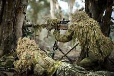 =  Ghillie Tarnumhang , Sniper Bolero in PenCotton Greenzone ,Atacs FG, Multicam