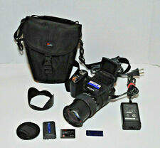 Sony DSC-R1 Cyber Shot Camera 24-120mm Zeiss Lens, Carrying Case, Adapter, Works