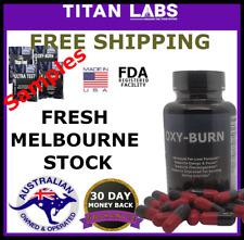 Titan Labs OXY BURN Thermogenic Fat Burner Weight Loss - 60 CAPS - MEN-WOMEN -AU