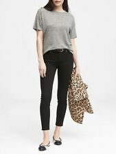 Banana Republic Stay Black Skinny Ankle Jeans Size 26 / 2 NWT $110