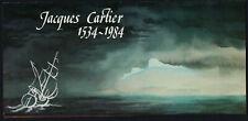France 1923 , Canada 1011 blocks of 4 in Presentation Folder - Jacques Cartier