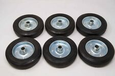 ROLLING GATE WHEELS, Rubber 8INCH REPLACEMENT KIT-OF-6