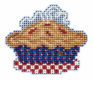 American Pie Bead Cross Stitch Kit Mill Hill 2016 Autumn Harvest MH181625