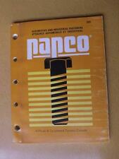 PAPCO CATALOG 1989 AUTOMOTIVE AND INDUSTRIAL FASTENERS CAR TRUCK PARTS TORONTO