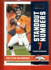 2017 Score Peyton Manning Standout Numbers Denver Broncos #14