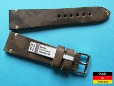 TOP ! Vintage Camouflage Uhrenband 20 mm, Militär