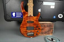 Peavey Millennium Plus Bass - Tiger Eye w/ Block Inlays - Made in The USA