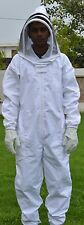 S Full body cover Bee Keeper thick cloth Suit with Vail beekeeping beeks all